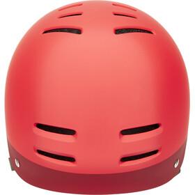 Nutcase Zone Helmet red matte